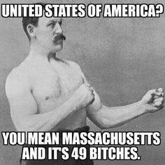 Massachusetts and its 49 bitches
