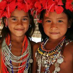 niñas chocoes de Panamá