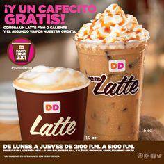 Happy Hour de Lunes a Jueves de 2 pm a 5 pm#yuncafecito #CaféDunkin