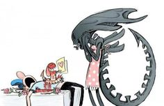Happy Mother's Day to all the moms / Xenomorph Queens out there! #mothersday #alien