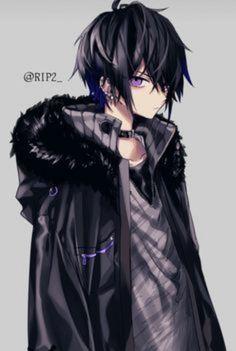 Miryo é uma criança totalmente diferente mas igual a muitas outras, e… #romance # Romance # amreading # books # wattpad Anime Demon Boy, Dark Anime Guys, Cool Anime Guys, Hot Anime Boy, Anime Girls, Dark Anime Art, Blue Anime, Chica Anime Manga, Anime Oc
