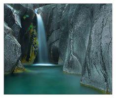 Waterfall - Geres Mountains
