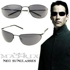 Premium Metal Wire Matrix Movie Sunglasses 1206