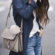 """ShopStyle on Instagram: """"Slouchy jeans, a flow-y trench and a Chloé. Outfit perfection.  : @blank_itinerary"""""""