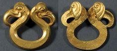 Scythian | Scythian gold work from Siberia, 7th century B.C.