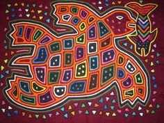 Arte Mola - Arte Indígena Colombiano, Imprime tu afiche con Gerprint
