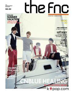 K2POP - 씨앤블루 매거진 (매거진 + DVD) (3분기 / 2013) (한정판)THE FNC (THIRD QUARTER 2013) (CNBLUE COVER) (SUMMER SPECIAL)