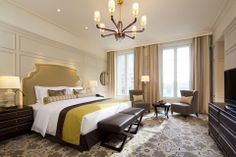The Tokyo Station Hotel, Tokyo Tokyo Station, Small Luxury Hotels, Hotel Bed, Craftsman Style Homes, Classic Interior, Architecture Plan, Room Decor, House Styles, Furniture