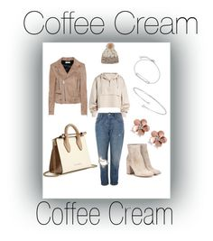 """""""coffeee prince"""" by ilseok on Polyvore featuring Topshop, Ivy Park, Strathberry, Allurez, Yves Saint Laurent, Gianvito Rossi, CLUSE, Elsa Peretti and Mischa Lampert"""