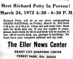Clayton County, Richard Petty, Grand National, Math Equations, Books, Libros, Book, Book Illustrations, Libri