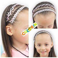 Mañana en #youtube empezamos a hacer #trenzas con #cinta #braids #braid #girls #girl #hair #trenza #colorin #peluqueria #cucuta Corte Y Color, Little Girls, Hair Color, Hairstyle, Pretty, Beauty, Youtube, Fashion, Stuff Stuff