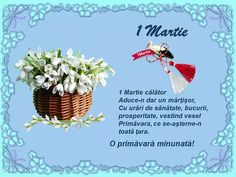 (77) Facebook 1. Mai, 8 Martie, March 1st, Baby Pictures, Spring Time, Floral Arrangements, Mandala, Tableware, Christmas