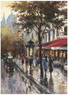 Avenue des Champs-Elysees I Posters by Brent Heighton at AllPosters.com