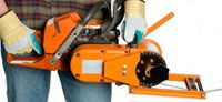 Portable Chainsaw Winch pulls 8000 pounds!
