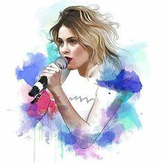 Foto - Google Fotos Violetta Live, Elle Magazine, Besties, Arts And Crafts, Celebrity, Humor, Stars, Canvas, Wallpaper
