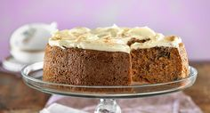Gluten-free carrot cake with cream-cheese frosting