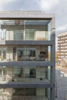 Schönes Leben in Beton - Wohnhaus von Kempe Thill in Antwerpen