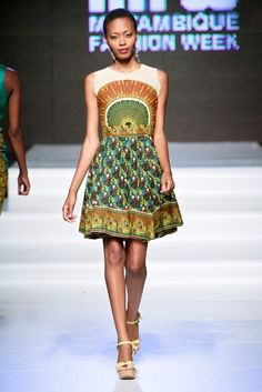 Adelia e Sheila Tique @ Mozambique Fashion Week 2013 - Day 2 | FashionGHANA.com