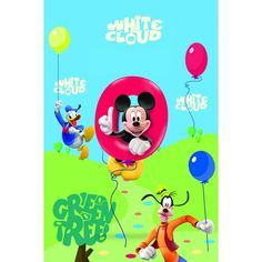 Printed Tufted - Vasilas Home. Mickey Mouse - Goofy - Donald Duck