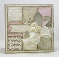 Viintage Wedding Card