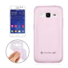 [USD0.62] [EUR0.55] [GBP0.43] 0.3mm Ultra-thin TPU Case for Samsung Galaxy Core Prime / G360(Pink)