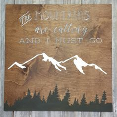Made this sign for the days I miss Colorado. Look for it to be listed soon!
