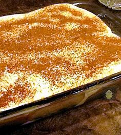 Easy Tiramisu A fabulous recipe, great tasting and sure to please! #Italian #dessert #Tiramisu