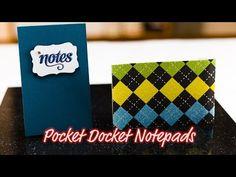 Pocket Docket Notepads - Giggles Creative Corner