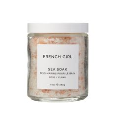 This soak combines four salt varieties with the lovely scent of rose and ylang to soothe muscles, soften skin and relax the mind. Rose Geranium Oil, Ylang Ylang Flower, Himalayan Pink Salt, Bath Soak, Organic Essential Oils, Flower Oil, Lavender Oil, French Lavender, Clean Beauty