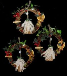 Image result for pagan yule ornaments