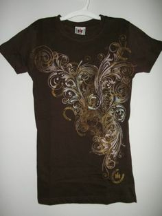 Case International Harvester Womens Graphic T Shirt Brown XS | eBay