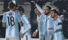 Argentina defeated Honduras 1-0 with goals from Gonzalo Higuain and Lionel Messi injury | VIDEO