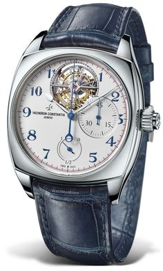 Vacheron Constantin – Harmony Tourbillon Chronograph. Combining the elegance of the monopusher chronograph with the prestige of a stunning tourbillon shaped like the Maltese Cross.
