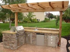 Outdoor Grill Designs | Outdoor Kitchen Grill Ideas51 Outdoor Kitchen Ideas