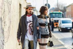 The Best Street Style From Milan Fashion Week AW16