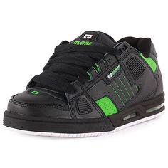 3b0ae08e0c2b8 Détails sur Globe Sabre homme en cuir & daim Noir Vert Skate Baskets  Chaussures Neuves Toutes Tailles- afficher le titre d'origine. Globe Skate  ShoesMens ...