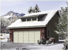 Mountainview 2 Car Garage Plans One Set of Prints