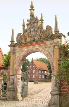 Drakenburg Portal, Lower Saxony, Germany