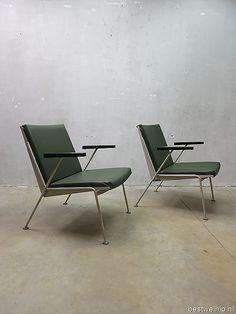 Oase lounge chair Wim Rietveld, Dutch design chair Ahrend de Cirkel www.bestwelhip.nl