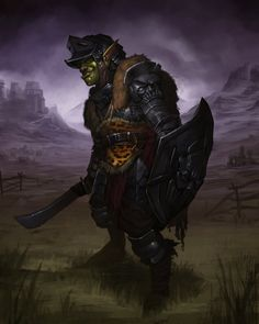 Orc Leopard Knight