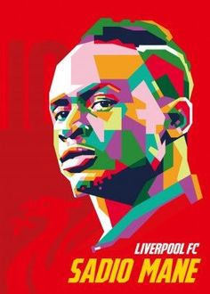 Liverpool Wallpapers, Soccer Stadium, Gamer Shirt, Pop Art Portraits, Poster Making, Liverpool Fc, Football Players, Cool Artwork, Art Projects