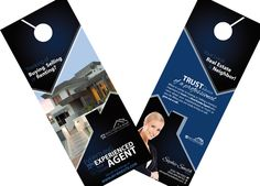 Real Estate Door Hangers | Creative Real Estate Door Hanger Template | Modern Door Hangers | Realtor Door Hangers | Real Estate Agent Door Hangers | Innovative Door Hanger Ideas for Real Estate Agents | Door Hanger Templates for Realtors