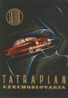 Cars Poster illustration and graphic by František Kardaus - Czechoslovakia). Car Accessories For Women, Exhibition Poster, Car Posters, Old Signs, Small Cars, Advertising Poster, Vintage Posters, Vintage Logos, Old Pictures