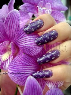 Louis Vuitton Nail Design