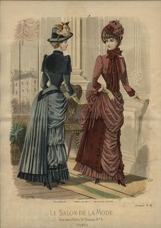 Le Salon de la Mode 1883