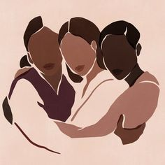 Sacrée Frangine is the artistic project of Alina and Célia through which they describe a female universe through colourful and minimalist illustrations.L'articolo The minimalist illustrations by Sacrée Frangine sembra essere il primo su Collateral. Black Girl Art, Black Women Art, Art Girl, Thé Illustration, Illustration Inspiration, Friends Illustration, Design Illustrations, Art Minimaliste, Feminist Art