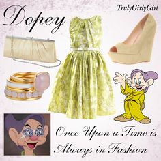 Disney Style: Dopey, created by trulygirlygirl on Polyvore