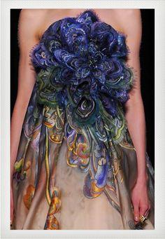 alta costura vestido