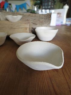 Ceramic Matt Lipped Dishes - Claire Watson