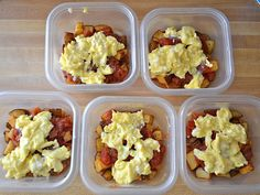 Breakfast bowls for the freezer. So going to make these!